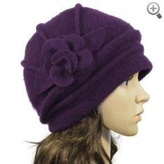 Women Flower or Bow Stylish Wool Hat #Women #Flower #Bow #Stylish #Wool #Hat