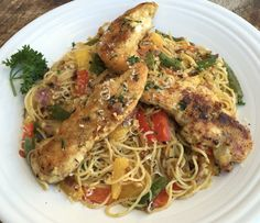 Top Secret Recipes | Olive Garden Chicken Scampi Copycat Recipe