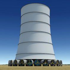 Wind- en zonne-energie geven ons alleen energie als de natuur dat toelaat, maar zonne-wind hybride torens kunnen deze beperkingen binnenkort...