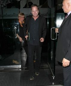 Kiefer Sutherland Photos: Celebrities Dine Out At Mr Chow
