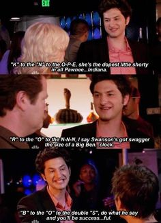 18 Jean-Ralphio And Tom Haverford Moments That Are Literally Extra AF Parks And Rec Memes, Parks And Recreation, Parcs And Rec, Parks Department, Tv Quotes, Movie Quotes, Best Shows Ever, Best Tv, Movies And Tv Shows