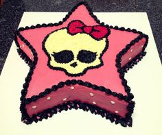 Monsters High Cake star