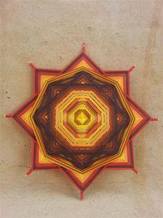 desert mandala Meditation, No Image, Abstract, Artwork, Fun, Gods Eye, Beautiful Images, Pictures, Summary