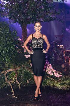 Lala Rudge promove o primeiro desfile da La Rouge Belle - Vogue | Lifestyle
