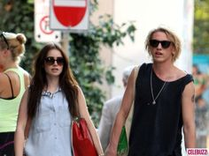 lily collins and jamie campbell bower the mortal instruments on set photos | Lily Collins And Jamie Campbell Bower Mortal Instruments