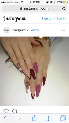 Interesting ideas of 67 nails for 2019 - Nail Designs! Interesting ideas of 67 nails for 2019 Source by CarolinaZenda SEE DETAILS Glam Nails, Fancy Nails, Stiletto Nails, Pink Nails, Beauty Nails, Cute Nails, Coffin Nails, Stylish Nails, Trendy Nails