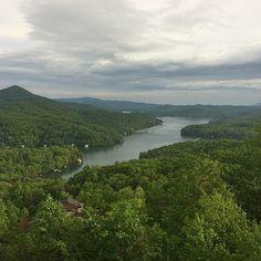 Lake Burton in northeast #Georgia. Photo by @roxana reyes Puscas.