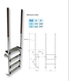 Certikin Naturaline Luxury Wooden Ladder - 1.7