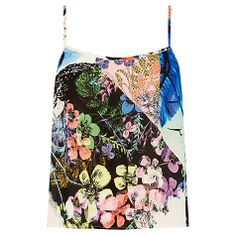 Buy Warehouse Collage Floral Cami, Multi Online at johnlewis.com