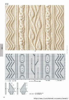 Photo from album Knitting Pattern Book by Hitomi Shida on Yandex.Disk - Мобильный LiveInternet Книга:«Knitting Pattern Book 260 by Hitomi Shida Cable Knitting Patterns, Knitting Stiches, Knitting Charts, Lace Knitting, Knitting Designs, Lace Patterns, Stitch Patterns, Crochet Patterns, Pattern Books