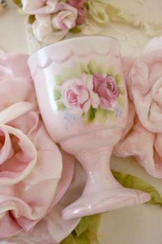 Vintage porcelain egg cup
