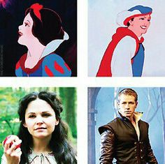 Disney vs Once Upon a Time