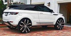 Range Rover Eque on 26 inch rims! : Range Rover Eque on 26 inch rims! Range Rover Sport 2018, Range Rover Evoque, Range Rovers, Top Luxury Cars, Luxury Suv, Supercars, Range Rover White, Classic Car Insurance, Lux Cars