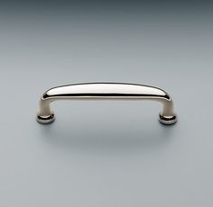 This one is a little cleaner looking, the Restoration Hardware Ephram Pull. This is offered in sizes up to giving a lot of flexibility for appliance pulls, or just a heftier hardware look in your kitchen. Kitchen Cabinet Hardware, Home Hardware, Cabinet Handles, Kitchen Cabinets, Upper Cabinets, Bathroom Hardware, Knobs And Pulls, Drawer Pulls, Drawer Knobs