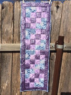 Table runner patchwork on etsy