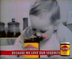 Because we love our vegemite