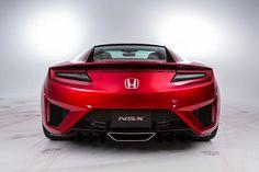 Honda NSX studio - rear