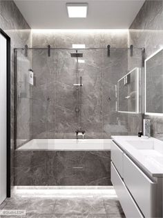 Bathroom decor for your bathroom remodel. Discover bathroom organization, bathroom decor ideas, bathroom tile ideas, bathroom paint colors, and more. Sea Bathroom Decor, Grey Bathroom Tiles, Bathroom Vanity Designs, Master Bedroom Bathroom, Bathroom Design Luxury, Bathroom Layout, Bathroom Colors, Bathroom Styling, Bathroom Sets