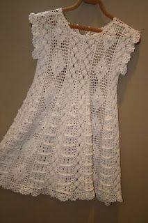 María Cielo: Crochet inspiración: vestidos