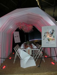 We love this portable room hosted by the Roger Thomas Collection. At the Architectural Digest Home Design Show 2013
