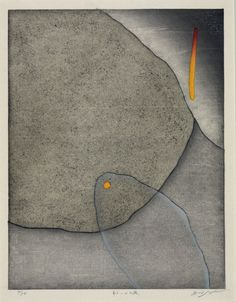 'Another Night' (2004) by Japanese artist & printmaker Hidehiko Gotou (b.1953). Color woodblock, edition of 50, 33 x 25 cm. via on the cutting edge