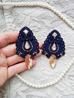 Big blue gold pink earrings Long soutache от SoutacheForTheQueen https://www.etsy.com/ru/listing/490916926/big-blue-gold-pink-earrings-long?ref=shop_home_feat_2