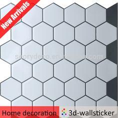 peel and stick wall tile modern pearl hexagon sticker for bathroom buy stick tilepearl hexagon stick tilemodern pearl hexagon stick tile product on