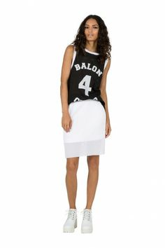 Finders Keepers   Starting Over Skirt   White   Shop Now   BNKR
