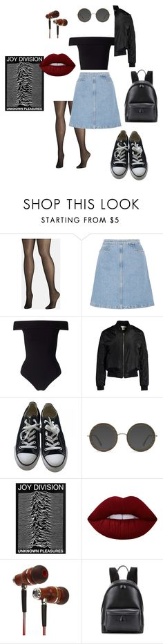 """""""rebel's back to school"""" by enrika-gawlowska on Polyvore featuring Avenue, M.i.h Jeans, Miss Selfridge, Sans Souci, Converse, EyeBuyDirect.com, Lime Crime, Balenciaga and vintage"""