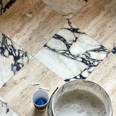 MONTANA LABELLE DESIGN (@montanalabelle) • Instagram photos and videos Interior Design Instagram, Always You, Made In Heaven, Match Making, Stone Flooring, Travertine, Montana, House Design, Photo And Video
