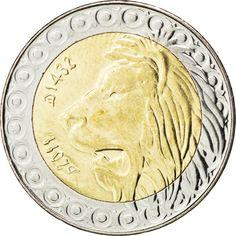 ALGERIA, 20 Dinars, 2011, Algiers, KM #125, MS(63), Bi-Metallic, 27.5, 8.60