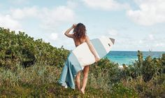 Northcore Collective #handmade heavy duty canvas #Surfboard bag made in Collaboration with Chapman at Sea