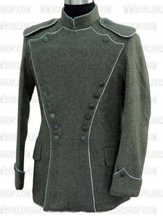 Replica of German WWI Imperial Uhlan Tunic (White Piping) for Sale