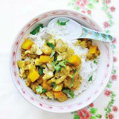 Recept - Indiase viscurry met pompoen - Allerhande