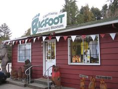 Bigfoot Museum, Felton If we do a road trip out west...we visit this place :)