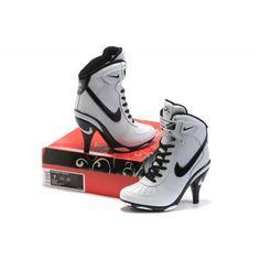 buy online a8612 d3437 Femme Nike Air Force 1 High Heels Blanc Noir88,98€ Nike High Heels