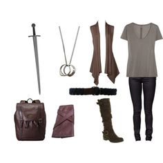 """""""gwaine (merlin)"""" by sherlockallday on Polyvore... why is there a sword???"""