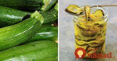 Máte radi nakladané uhorky? Vyskúšajte pre zmenu niečo nové - nakladanú cuketu, ktorá sa skvele hodí do šálatov, alebo ako chutný doplnok k jedlu.