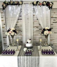 Wedding Stage, Wedding Ceremony, Wedding Venues, Engagement Decorations, Diy Wedding Decorations, Wedding Places, Wedding Locations, Bride Groom Table, Simple Weddings