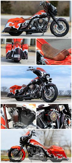 This gorgeous 2009 award winning, #CustomHarley is FOR SALE on www.ChopperExchange.com. Click on the photo to be taken to the full listing to view more photos, bike specifications, & seller's contact info. || #chopperexchange #harleydavidson #harley #motorcycles #livetoride #ridetolive #screamineagle #bagger #badass #vtwin #chopper