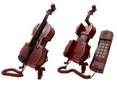 Old school violin phone. 19 Unexpected Ways To Display Your Love Of Classical Music Old School Phone, Ariana Grande Perfume, Call Me Maybe, Violin Music, Violin Art, Vintage Phones, Vintage Telephone, Music Lessons, Violin Lessons