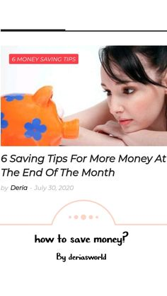 #savemoney #money #finances Ways To Save Money, Money Saving Tips, Fixed Cost, Budget Book, Borrow Money, How To Run Longer, First Step, The Borrowers, Keep It Cleaner