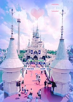 Lotte World - Seoul, Korea. Koreans version of Disney World.  | www.AsianSkincare.Rocks