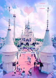 Lotte World - Seoul, Korea. Koreans version of Disney World