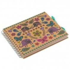Kraft elephants small multi scrapbook