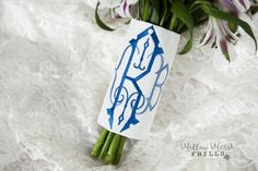 Your place to buy and sell all things handmade Wedding Flowers, Wedding Day, Bouquet Wrap, Custom Embroidery, Bridal Accessories, No Frills, Floral Arrangements, Renaissance, Monogram