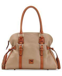 4b5f4bf324b3 Dooney   Bourke Dillen 2 Tonal Domed Buckle Satchel Handbags   Accessories  - Macy s