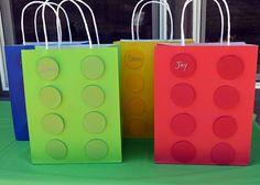 Lego gift bags