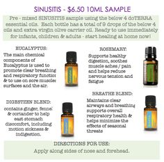 Image result for sinusitis essential oils