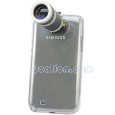 Phone Camera Lens Telescope 8X Zoom With Case For Samsung Galaxy Note2 II N7100